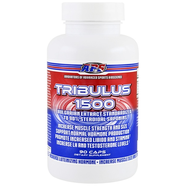 APS, Tribulus 1500, 90 Capsules (Discontinued Item)