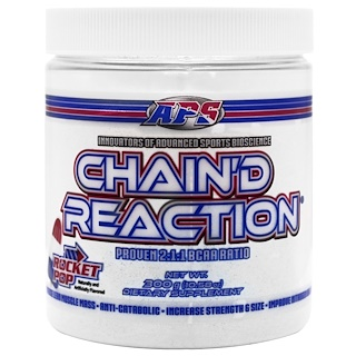 APS, Chain'd Reaction, BCAA, Rocket Pop, 10.58 oz (300 g)