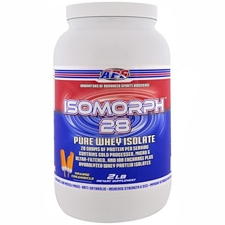 APS, Isomorph 28, Pure Whey Isolate, Orange Creamsicle , 2 lb