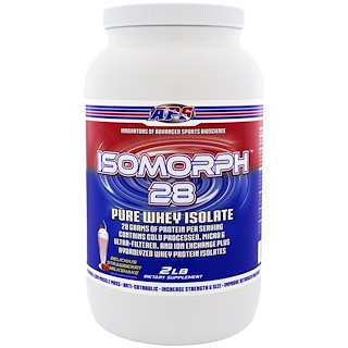 APS, Isomorph 28, Pure Whey Isolate, Delicious Strawberry Milkshake, 2 lb