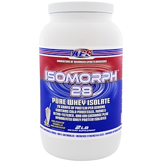 APS, Isomorph 28, Pure Whey Isolate, Delicious Vanilla Milkshake, 2 lb