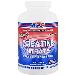 APS, Creatine Nitrate, 200 Capsules
