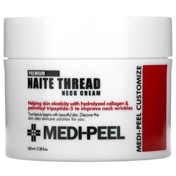 Medi-Peel, 优质 Naite Thread 颈霜,3.38 盎司(100 毫升)