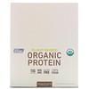 MusclePharm Natural, ナチュラルシリーズ、植物ベースオーガニックプロテインバー、チョコレートタフィー、12本、各1.76オンス (50 g)