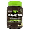 MusclePharm Natural, Grass-Fed Whey Protein, Vanilla, 1.85 lbs (840 g)