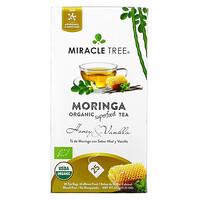 Miracle Tree, Moringa Organic Superfood Tea, Honey & Vanilla, Caffeine Free, 25 Tea Bags, 1.32 oz (37.5 g)