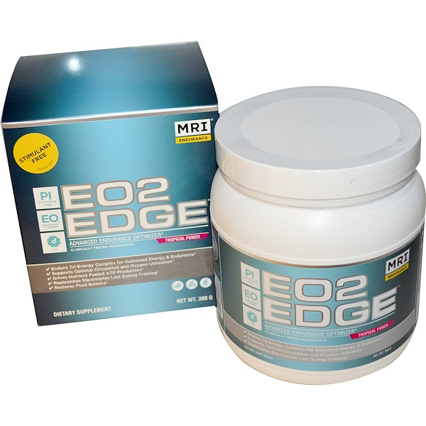 MRI, EO2 Edge, Advanced Endurance Optimizer, Tropical Punch, 300 g (Discontinued Item)