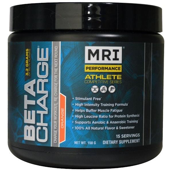 MRI, Beta Charge, High Intensity Training Optimizer, Orange, 15 Servings (150 g) (Discontinued Item)