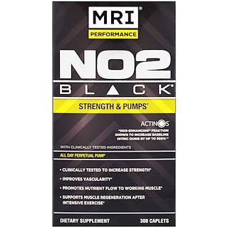 MRI, MRI Performance, NO2 Black, 300 Caplets