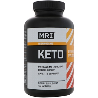 MRI, Keto, 120 Softgels