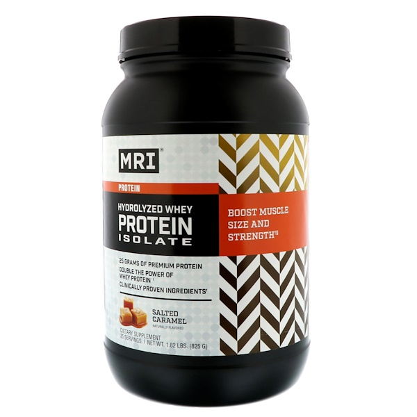 MRI, Hydrolyzed Whey Protein Isolate, Salted Caramel, 1.82 lbs (825 g) (Discontinued Item)