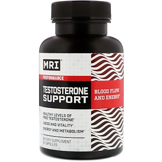 MRI, Testosterone Support, 90 Capsules