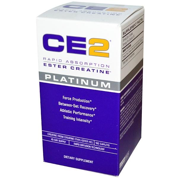 MRI, CE2, Rapid Absorption, Ester Creatine, Platinum, 180 Caplets (Discontinued Item)