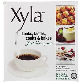 Xyla, Genau wie Zucker!, 100 Päckchen à 4 g
