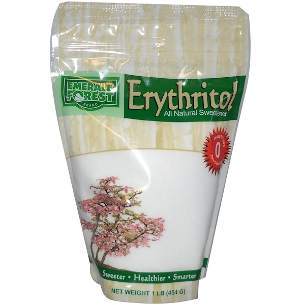 Xylitol USA, Erythritol, All Natural Sweetener, 1 lb (454 g) (Discontinued Item)