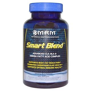 MRM, Smart Blend, Advanced CLA, GLA & Omega Fatty Acid Complex, 120 Softgels