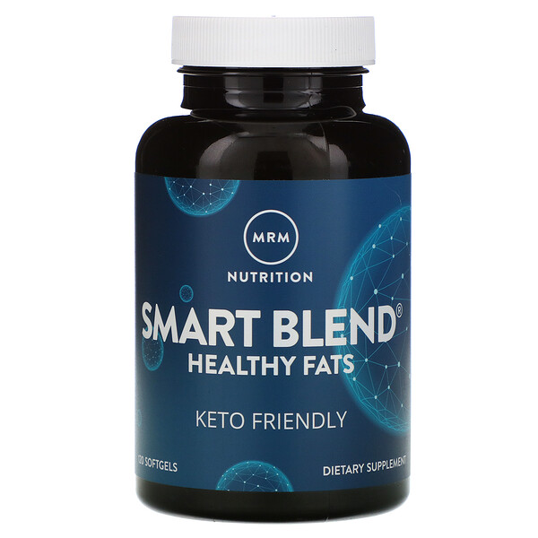 Nutrition, Smart Blend Healthy Fats, 120 Softgels