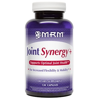 MRM, Joint Synergy +, 120 Capsules
