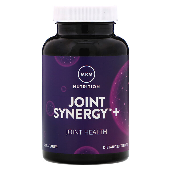 Joint Synergy + Roll-On, Paquete Económico, 120 Cápsulas y 2 oz Roll-On