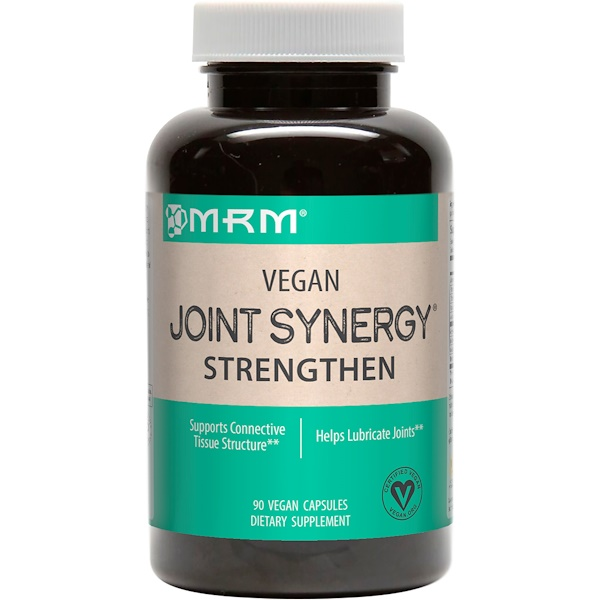 MRM, Vegan Joint Synergy, Strengthen, 60 Vegan Caps (Discontinued Item)