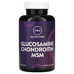 MRM, 氨基葡萄糖軟骨素(含 MSM),90 粒膠囊