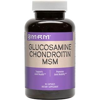 MRM, 글루코사민 콘드로이틴 메틸설포닐메탄, 90 캡슐