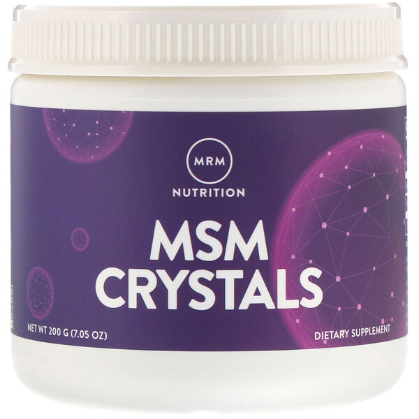 MRM, MSM Crystals, 1,000 mg, 7.05 oz (200 g)
