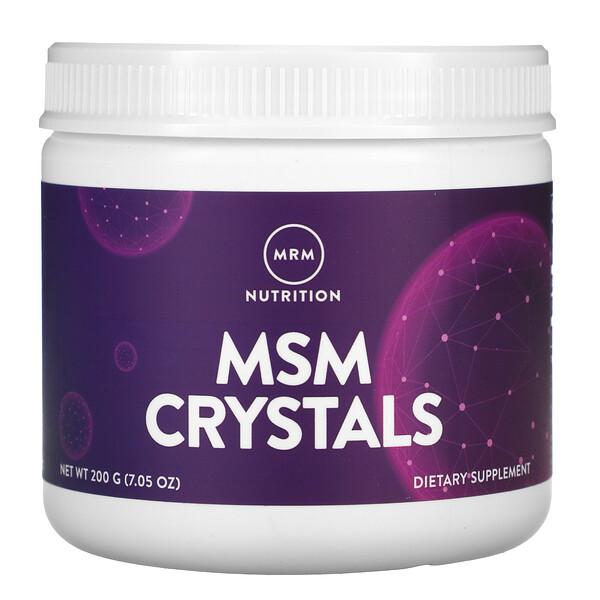 MSM Crystals, 1,000 mg, 7.05 oz (200 g)