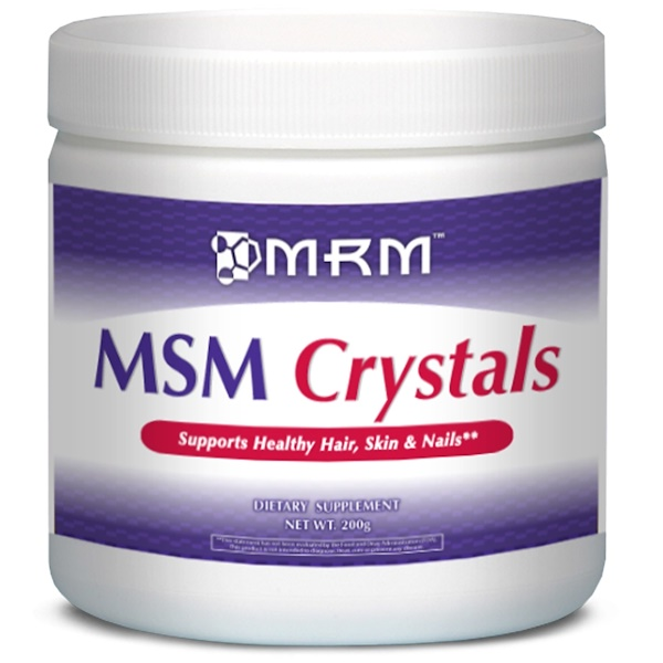 MRM, MSM クリスタルズ, 200 g