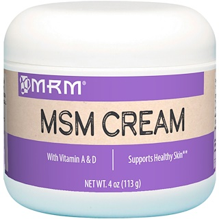 MRM, MSMクリーム、4 oz (113 g)