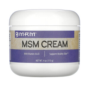 МРМ, MSM Cream, 4 oz (113 g) отзывы покупателей