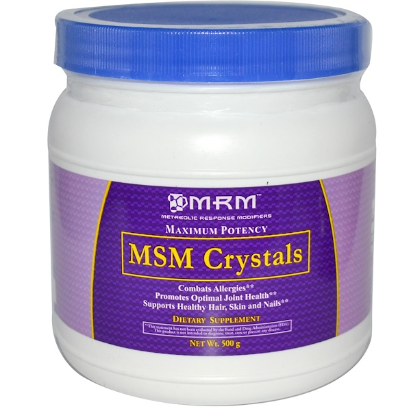 MRM, MSM Crystals, 500 g (Discontinued Item)