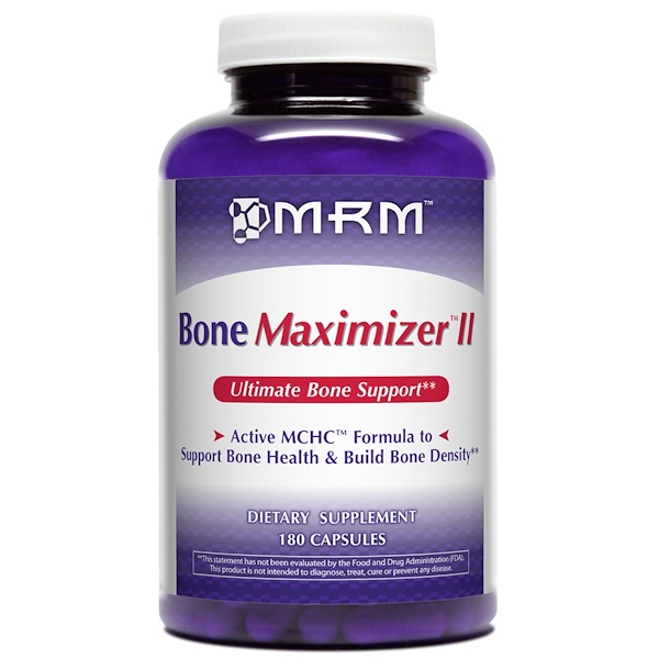 MRM, Bone Maximizer II, 180 Capsules (Discontinued Item)