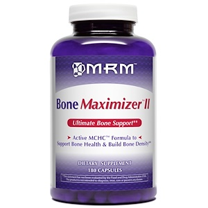 МРМ, Bone Maximizer II, 180 Capsules отзывы