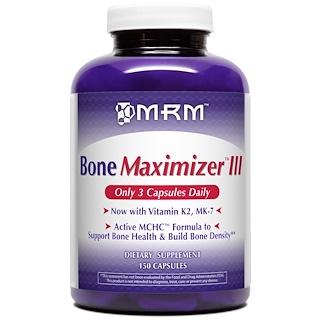 MRM, Bone Maximizer III, 150 Capsules