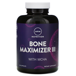 МРМ, Nutrition, Bone Maximizer III with MCHA, 150 Capsules отзывы покупателей