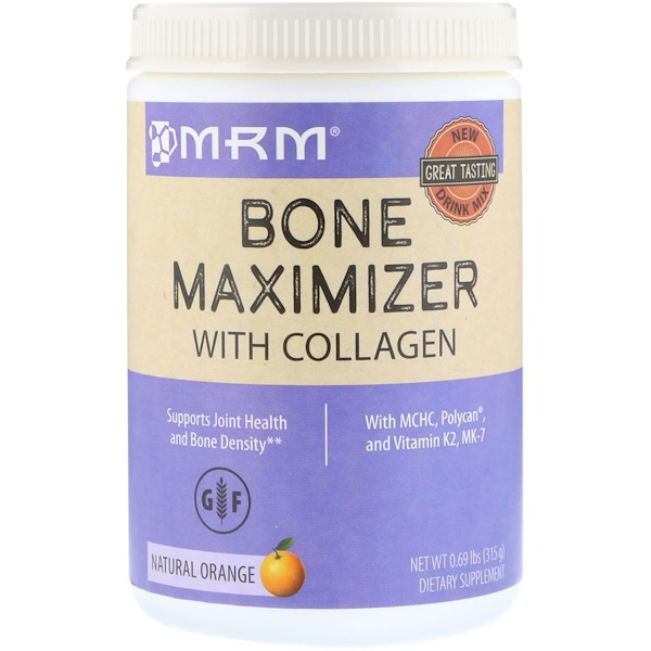 MRM, Bone Maximizer with Collagen, Natural Orange, 0.69 lb (315 g) (Discontinued Item)