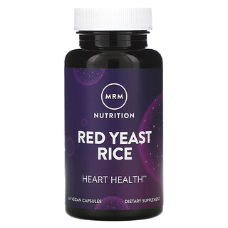 MRM, Red Yeast Rice, 60 Vegan Capsules
