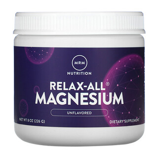 MRM, Relax-All Magnesium, Unflavored, 8 oz (226 g)