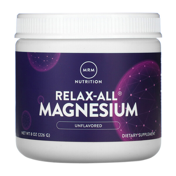Relax-All Magnesium, Unflavored, 8 oz (226 g)