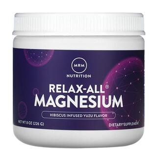 MRM, Relax-All Magnesium, Hibiscus Infused Yuzu, 8 oz (226 g)