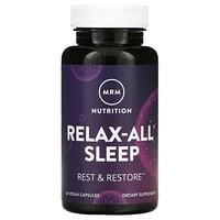 MRM, Relax-All Sleep, 60 Vegan Capsules
