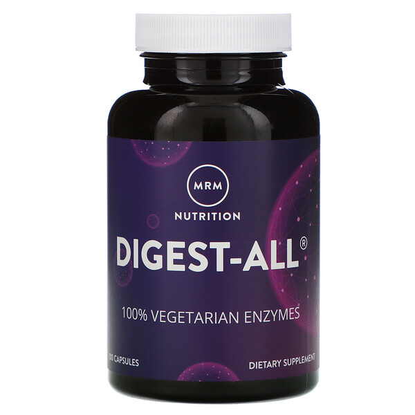 Nutrition, Digest-ALL, 100 Capsules