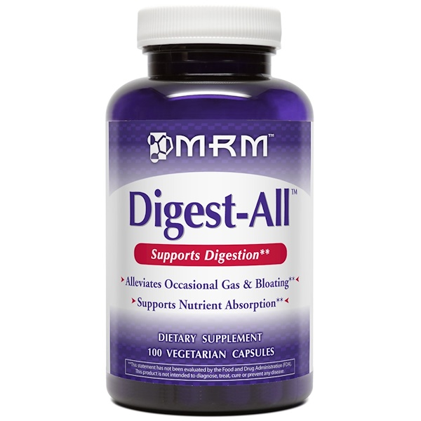 MRM, Digest-All, 100 Veggie Caps