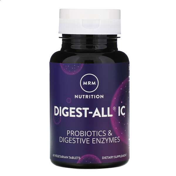 Digest-All IC, 60 Vegetarian Tablets