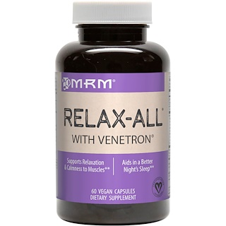 MRM, Relax-All with Venetron, 60 Vegan Capsules