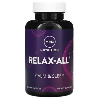 MRM, Relax-All, Calm & Sleep, 60 Vegan Capsules