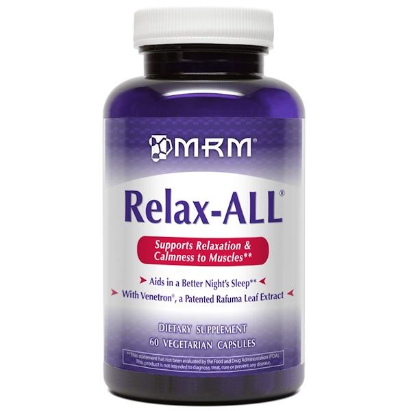 MRM, Relax-All, 60 Vegan Capsules