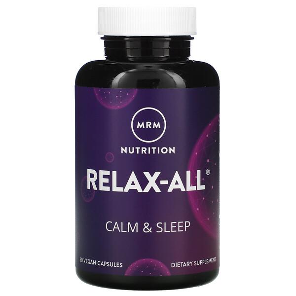 Relax-All, Calm & Sleep, 60 Vegan Capsules