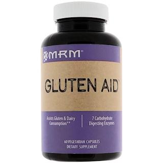 MRM, Gluten Aid, 60 Vegetarian Capsules